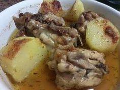 Pollo al microondas 2(con patatas a las hierbas provenzales), Receta Petitchef
