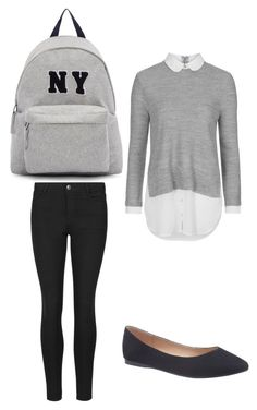 """""""a modern school girl outfit"""" by alexa-barnes on Polyvore featuring Topshop, Indigo Collection, Lane Bryant, Joshua's, modern, women's clothing, women's fashion, women, female and woman"""