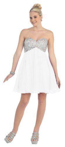Short Cocktail Party Rhinestone Prom Dress #997 (10, White) US Fairytailes,http://www.amazon.com/dp/B00BMI8NQM/ref=cm_sw_r_pi_dp_UDsprb0PKWBWD6TF