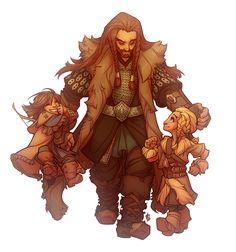 By dapperowl #Hobbit #Thorin #Fili #Kili