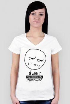 Koszulka Damska - Memy Humor