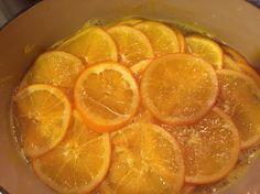 オレンジスライスジャムを真似したもの。