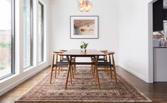 A rug can be a focal point or accent. It can unite, extend or separate a room. Here are some helpful tips for finding the right rug for your space: