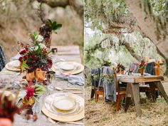 Bohemian Winter Glam Inspiration