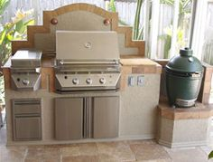 this will be what the set up on the kitchen side will look like - Outdoor Deep Fryer