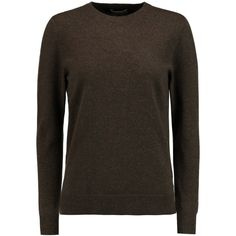 N.Peal Cashmere Boyfriend cashmere sweater ($152) ❤ liked on Polyvore featuring tops, sweaters, brown, boyfriend tank top, boyfriend sweater, wool cashmere sweater, brown cashmere sweater and side slit sweater