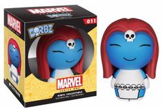 A certain blue-hued shape-shifting mutant would like to slip into your X-Men collection! The X-Men Mystique Marvel Series 1 Dorbz Vinyl Figure measures approximately 3-inches tall. This loveable little mutant comes in a double window-box package to fully display the character from both front and back! #funko #actionfigure #collectible #dorbz #Mystique #Marvel