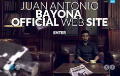 Winner of the Day / 26 March 2013 http://www.csswinner.com/details/juan-antonio-bayona-website/4599