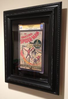 Amazing Spider-man deserves a great locking display system that can be used in any room in the house.