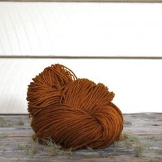 Harvest Wool - Turmeric, dyed from marigold flowers
