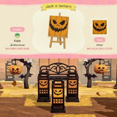 Animal Crossing Guide, Animal Crossing Villagers, Animal Crossing Qr Codes Clothes, Halloween Design, Halloween Themes, Motif Acnl, Ac New Leaf, Motifs Animal, Tag Art