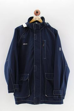 Vintage Jerseys, Ellesse, Used Clothing, Windbreaker Jacket, Parka, Skiing, Rain Jacket, Men's Fashion, Unisex