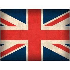 United Kingdom Flag Union Jack Wall Decal | World Travel Decor | RetroPlanet.com
