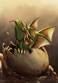 dragon hatchling by ~SeVeNTH-FLaSH on deviantART