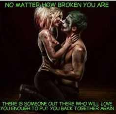 Joker nd Harley Quinn Der Joker, Joker Und Harley Quinn, Harely Quinn And Joker, Marvel Dc, Dc Comics, Enjoy The Ride, Batman, Crazy Love, Joker Quotes