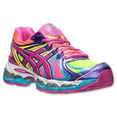 asics gel cirrus33 women's shoes pink/white/purple