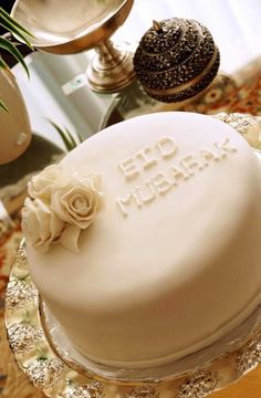 Simple and Cute Eid cake