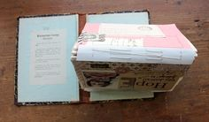 besottment by paper relics: Sewn Journaling Pages: Binding