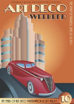 Art Deco Posters | Art Deco poster | Ting og tang