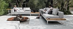 Gloster - Grid Fabulous outdoor furniture.