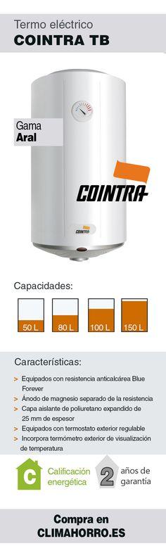 Termo eléctrico COINTRA gama ARAL TB