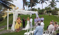 Destination Wedding @ Fajardo Puerto Rico  www.SBNparatuBoda.com
