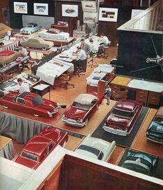 '50s GM design studio