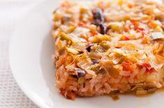 Праз с ориз на фурна