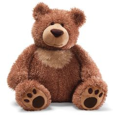 With a big soft body and bold paw pads, Slumbers looks like the Papa bear among GUND teddy bears. And like some papas… Slumbers is a big ol' softie. He gives the best hugs! And at 17 tall, there's lot