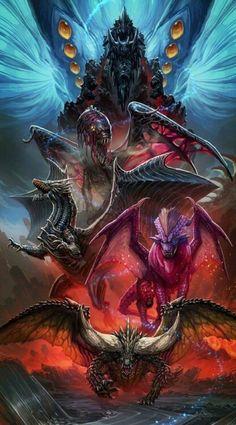 Monster Hunter World-Elder Dragons