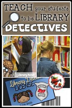 Years ago, as a brand new librarian, I attended a librarian round table discussion. Each librarian was asked to share something that they . School Library Lessons, Library Lesson Plans, Elementary School Library, Library Skills, School Library Themes, Kindergarten Library Lessons, Middle School Libraries, Library Science, Library Activities