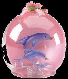 Glitter Gif Picgifs dolphins 7836170