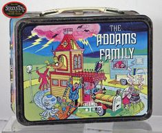 Vintage Lunch Boxes | Vintage 1974 Addams Family Lunch Box