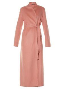 The Row Talaton long wool coat | Available at MATCHESFASHION.COM