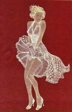 MM in Bobbin Lace (book Hiroko Miyano) Crochet Applique Patterns Free, Bobbin Lace Patterns, Embroidery Stitches, Hand Embroidery, Stitching On Paper, Bobbin Lacemaking, Nail String Art, Lace Art, Paper Lace