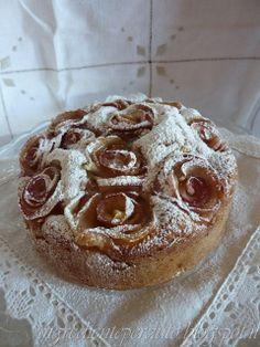 L'ingrediente perduto: La mela Rosa dei Monti Sibillini...torta di mele