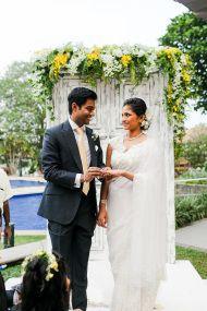 Destination Sri Lankan Wedding at Cinnamon Lakeside - Style Me Pretty