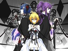 Len, Gakupo, and Kaito in The Immoral Memory