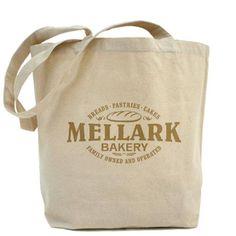 Hunger Games Mellark Bakery Tote Bag