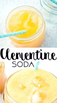 KLEMENTIINISOODA | CLEMENTINE SODA  This sweet soda is made from fresh clementines. Tämä makea sooda tehdään tuoreista klementiineistä.