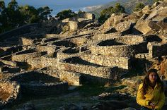 Ruins of celtiberos settlement. Somewhat similar to Citania de Briteiros, Portugal