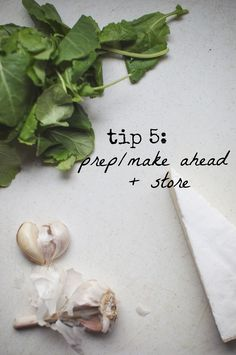 Automatic (Healthy) Eating // Tip 5 -- prep/make ahead and store // neverhomemaker