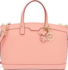 •Website: http://www.cuteandstylishbags.com/portfolio/henri-bendel-pink-west-57th-charm-satchel/ •Bag: Henri Bendel Pink West 57th Charm Satchel