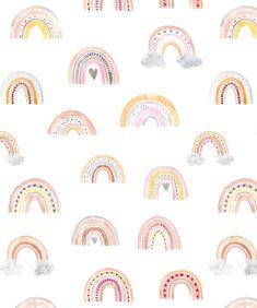 Rainbow Wallpaper, Cute Wallpaper Backgrounds, Of Wallpaper, Peel And Stick Wallpaper, Pattern Wallpaper, Cute Wallpapers, Iphone Backgrounds, Prepasted Wallpaper, Traditional Wallpaper