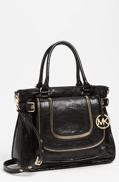 MICHAEL Michael Kors 'Naomi - Large' Satchel available at #Nordstrom
