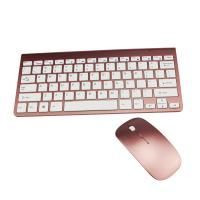 Ultra-Thin Wireless Keyboard & Mouse Combo