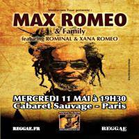 Max Romeo Ft Xana Romeo x Rominal Live @ Paris, France 5.11.2016 by Jah Blem Muzik on SoundCloud
