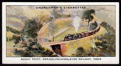 "https://flic.kr/p/D7zkVf | Cigarette Card - Agony Point, Darjeeling-Himalayan Railway | Churchman's Cigarettes ""Empire Railways"" (series of 50 issued in 1931) #29 Agony Point, Darjeeling-Himalayan Railway"
