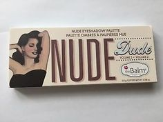 Thebalm Makeup Cosmetics Nude Dude 12 Colors Eyeshadow Palette Kit Volume 2 Kit Nude Eyeshadow, Eyeshadow Palette, Kit, Makeup Cosmetics, The Balm, Colors, Ebay, Colour, Color