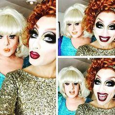Bianca Del Rio and Lady Bunny
